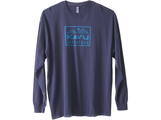 KAVU Adventure Time LS T-Shirt Herre faded ink